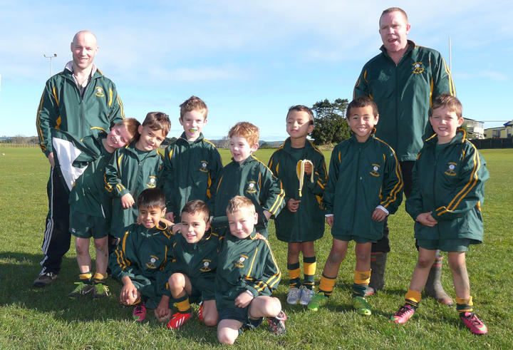 Pukekohe Under 6 Red Rugby Team