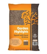 Garden Highlights Topsoil with sand 15L